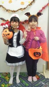 キュートだけどちょっと怖い?? ナースとかぼちゃの妖精さん♪(宝来)